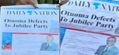 """Nation yajibu kuhusu gazeti """"lake"""" lililoandaa habari feki na kutatanisha kura za mchujo, Busia"""