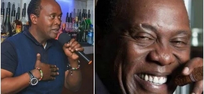 Jeff Koinange shows his grandmother who is one of the oldest people in the world