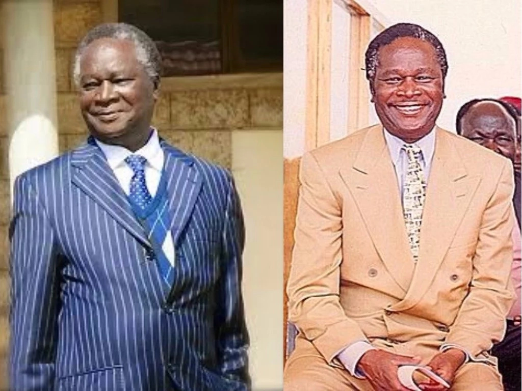 The late Nicholas Biwott. Photos: Daily Nation.