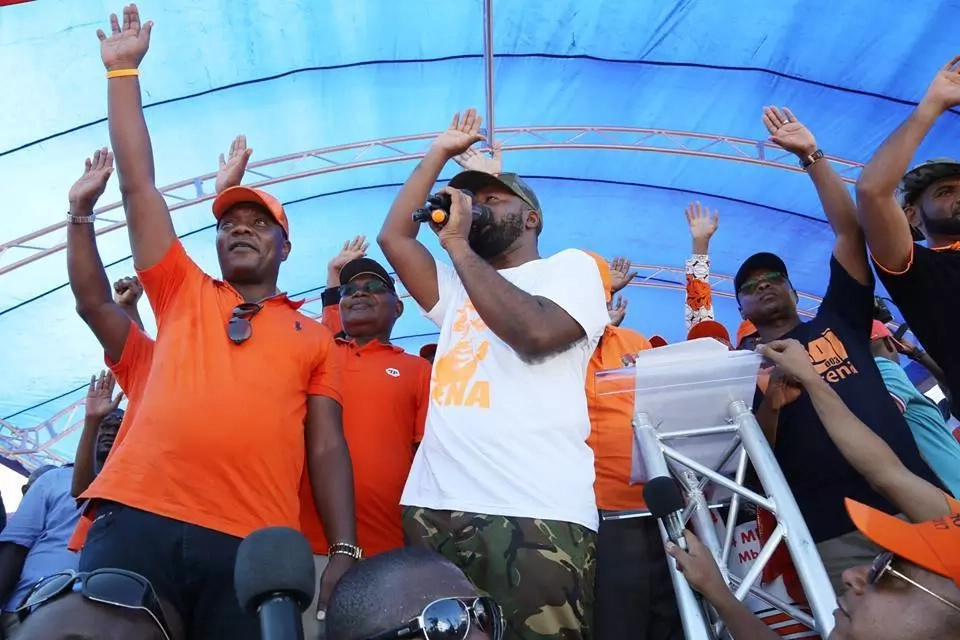 Joho reported after a confrontation with journalist
