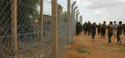 Picha za UKUTA 'unaojengwa' na Kenya kwenye mpaka na Somalia