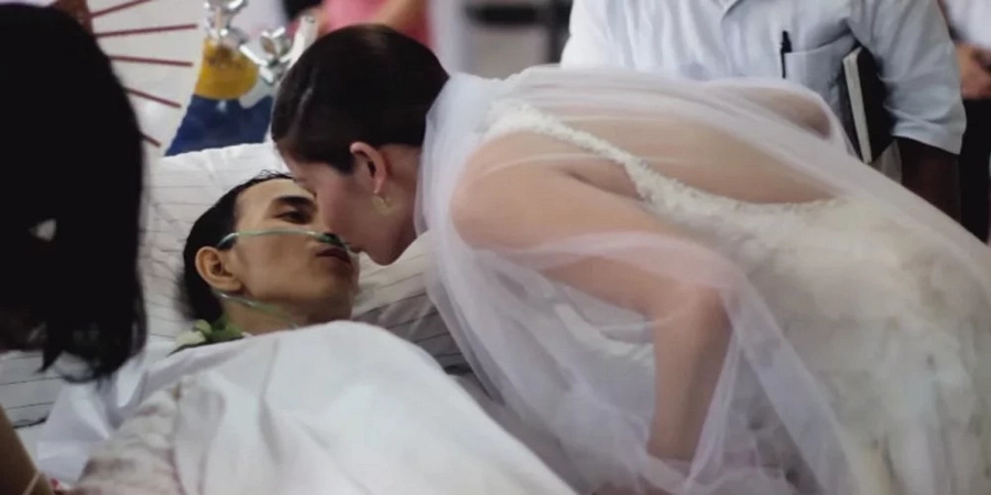The most beautiful but heartbreaking wedding you'll ever see