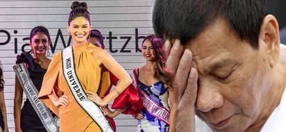 Dismayed Duterte accepts Miss-U Organization's decision that he cannot be a judge