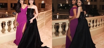 Claudia Barretto and Juliana Gomez look dashing in their long gowns