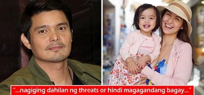 Tigilan niyo na si Marian! Dingdong Dantes anxious over family's safety due to political views expressed on Twitter parody account using wife's name