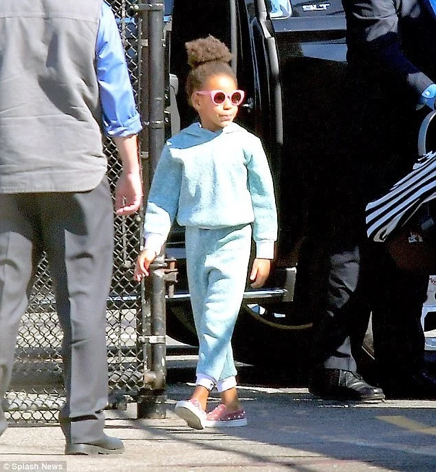 Blue Ivy is said to be a good big sister to her twin siblings. Photo: Splash News