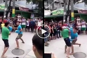 Trahedya sa kalye! Tough Pinoy kills opponent with brutal knockout during street fight