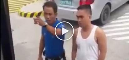 Agresibong traffic enforcer sa Batangas binastos ang drayber ng bus na lumabag sa batas trapiko