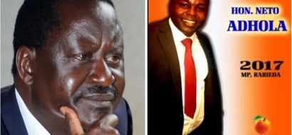 IEBC disqualifies parliamentary aspirant who illegally used Raila's photos