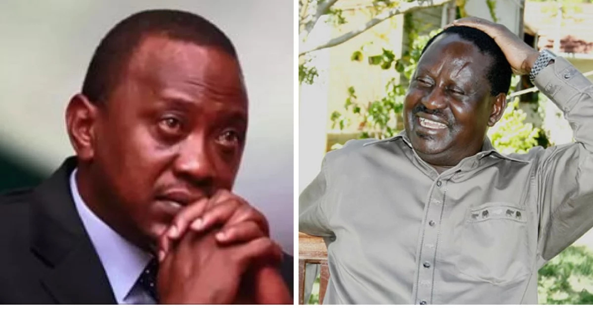Latest opinion poll shows Raila to lose to Uhuru by an even BIGGER margin than 2013