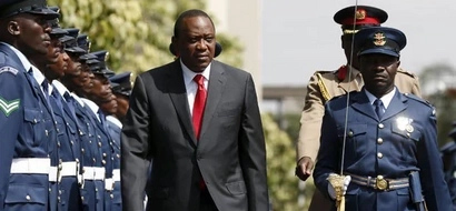 Photos: President Uhuru's tour to France starts with goodies for Kenya