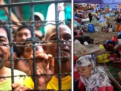 These prisoners skipped meals in order to save up P28,000 of cash. Turns out they were saving up to be donated to the evacuees from Marawi!