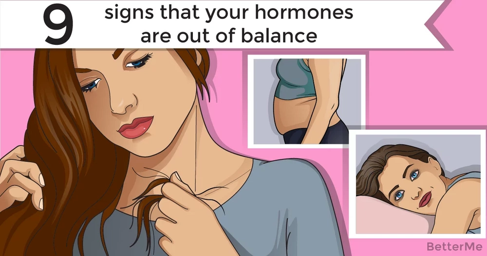 Top-9 signs your body can send you when your hormones are out of balance
