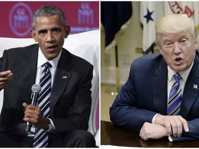 Obama BLASTS Trump as he warns of the dangers of extreme nationalism and xenophobia