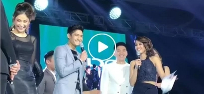 Gretchen Ho interviews Robi Domingo on stage and it was just as awkward as you can imagine