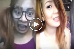 Netizens surprised with this Pinay's 'before & after' transformation video!