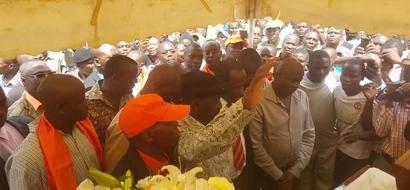Photos: Public viewing of Jacob Juma's remains in Kakamega