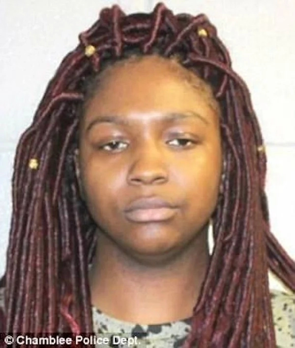Kamyrah Parks was charged with battery and criminal damage