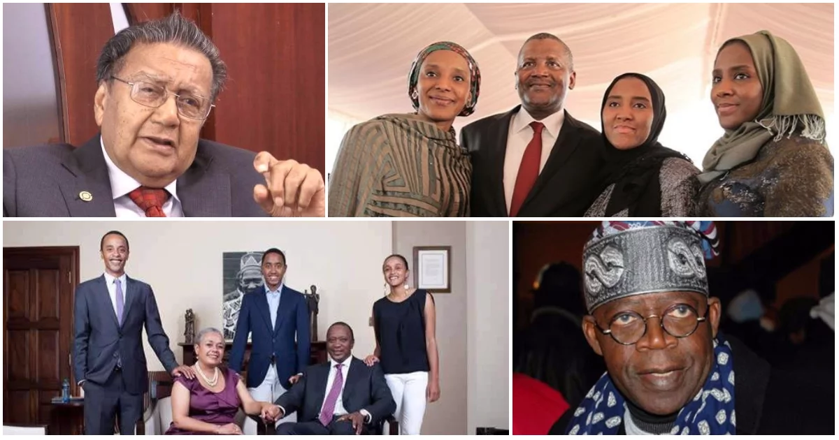 Africa's 9 richest families revealed