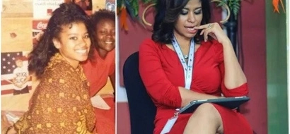 Ever wondered how the lovely Julie Gichuru's mom looks like? Wonder no more (PHOTO)