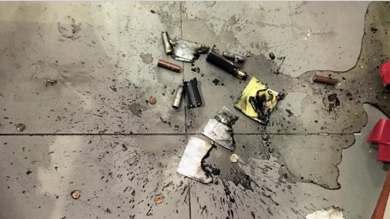 E-Cigarette Explodes In A Man's Pocket In Shocking Video