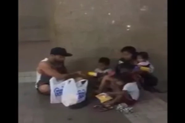 Sinon Loresca helps homeless Filipino kids in the streets
