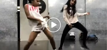 Awra and Andrea Brilliantes dance off in this fierce viral video!