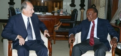 The Aga Khan meets Uhuru amidst rumours the president will buy Nation Media Group