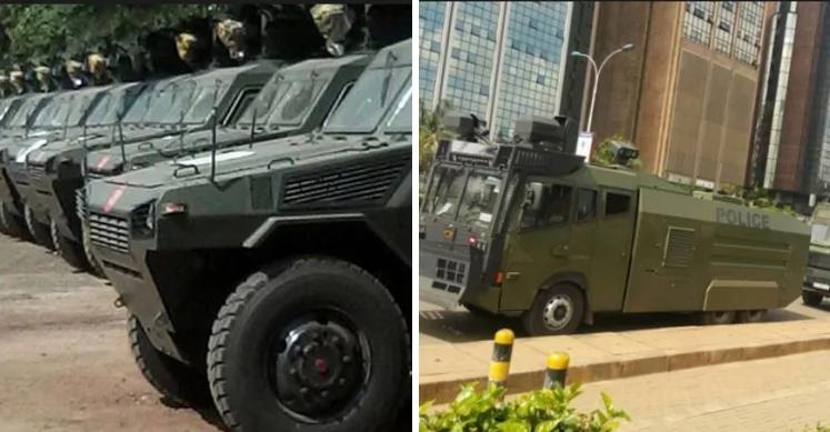 Polisi wapelekwa katika ngome ya William Ruto baada ya NASA kulalamikia njama ya kuiba kura