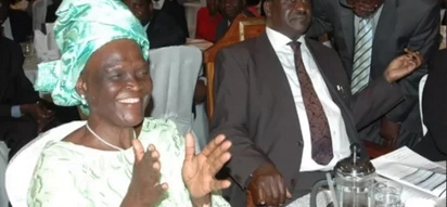 She died without knowing who killed her husband- Raila mourns Ouko's widow