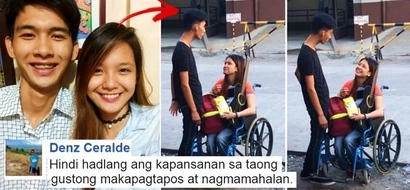 Romantic moment between a Pinoy student and a disabled girl on a wheelchair went viral. Watch their sweet video and get to know more about them!