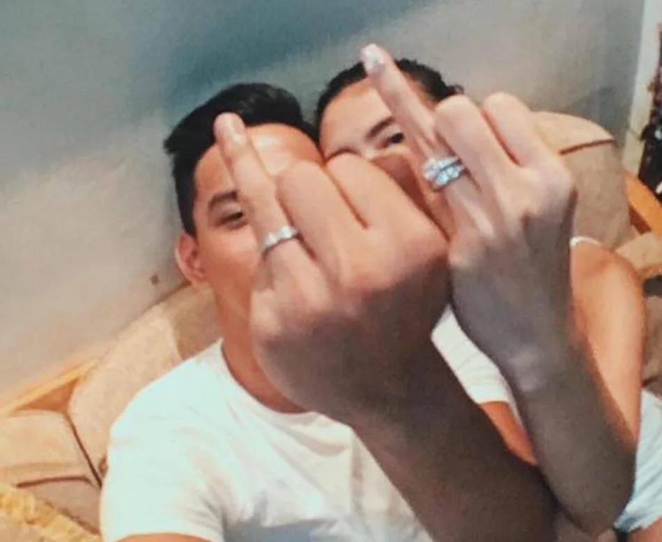 Pastillas girl and Mr. Pastillas now engaged!
