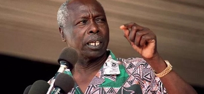 Former President Moi pulls a surprise during Ntimama's funeral