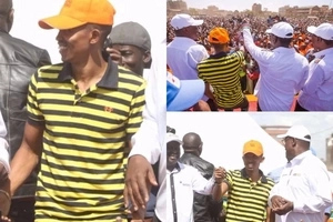 Raila Odinga endorses Moha Jicho Pevu for Nyali MP