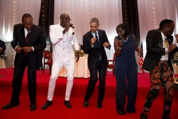 Uhuru Kenyatta can dance better than you