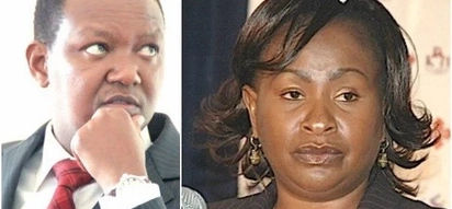 Yaliyondwele sipite: Alfred Mutua and Wavinya Ndeti engage fiercely