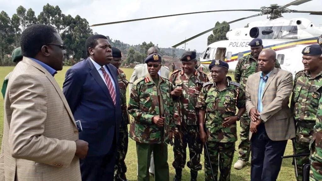 Matiangi atoa amri ya kutotoka nje Mt. Elgon oparesheni kubwa ya polisi yaanza