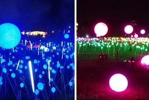 Ang ganda! Visit the Magical Field of Lights in Laguna this Christmas