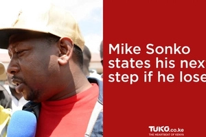 Mike Sonko misses his name on register, announces next step if he loses (video)
