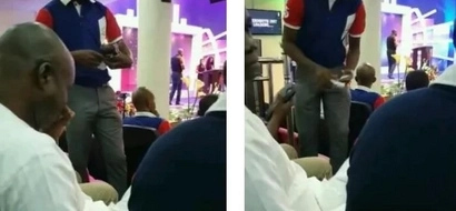 These church members have to PAY while hearing the pastor's sermon (photos, video)