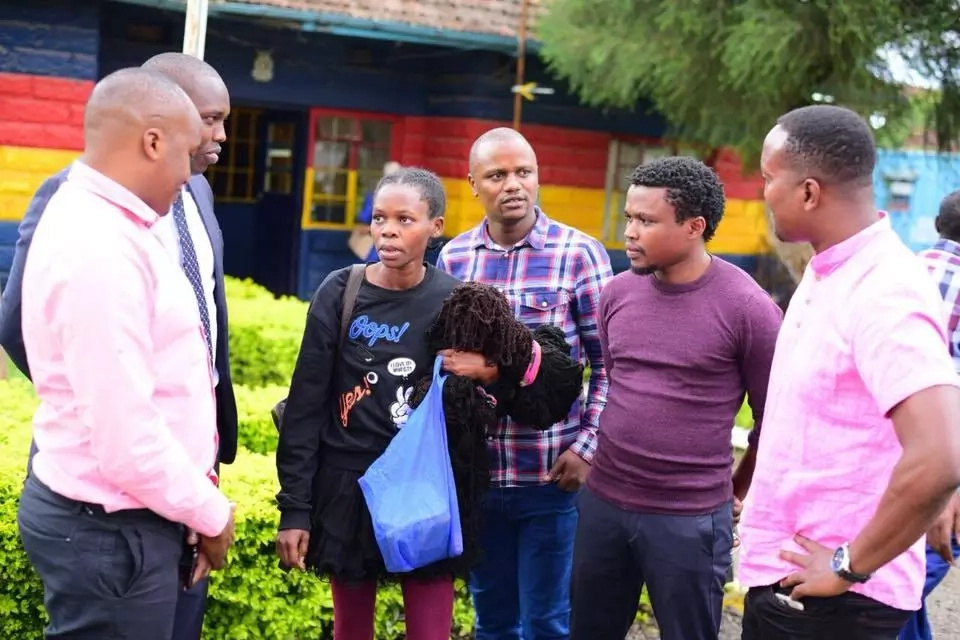 Young lady claiming to be Uhuru's daughter released from jail