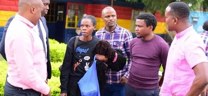Young lady claiming to be Uhuru's daughter released from police cell