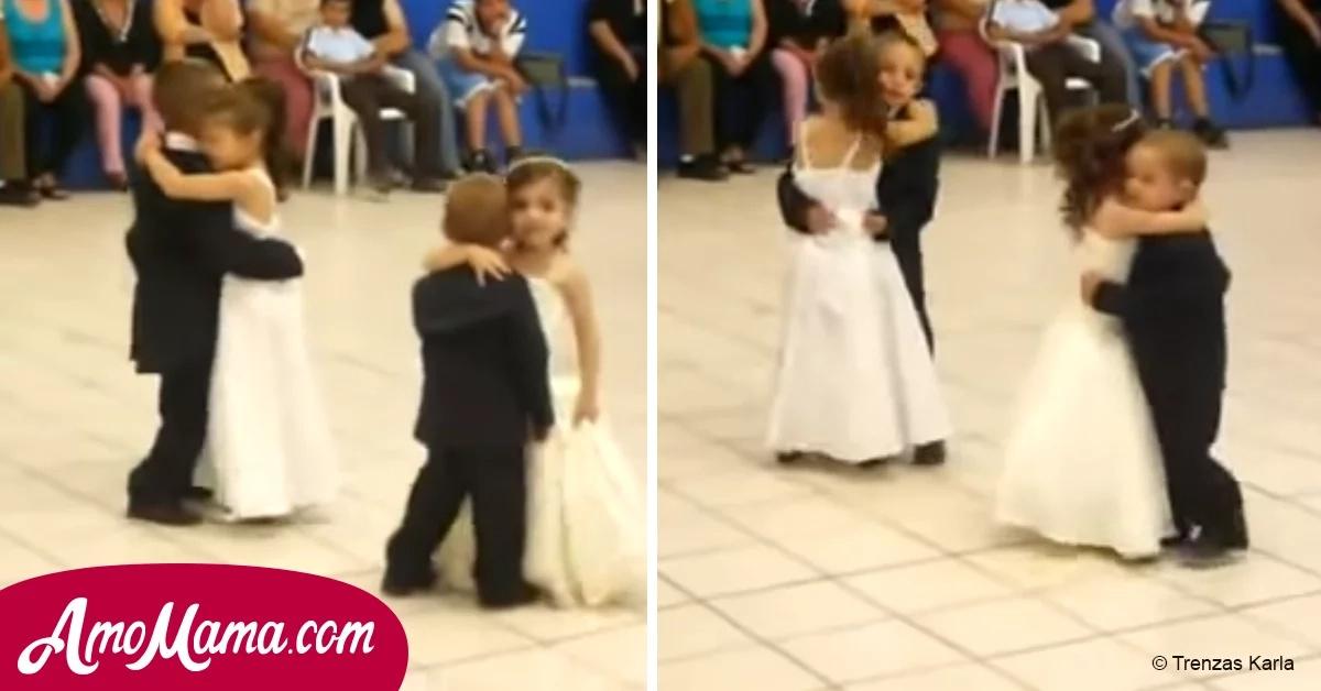 Estos cuatro niños se robaron todo el show por su romántico baile, pero ha generado el rechazo de algunos