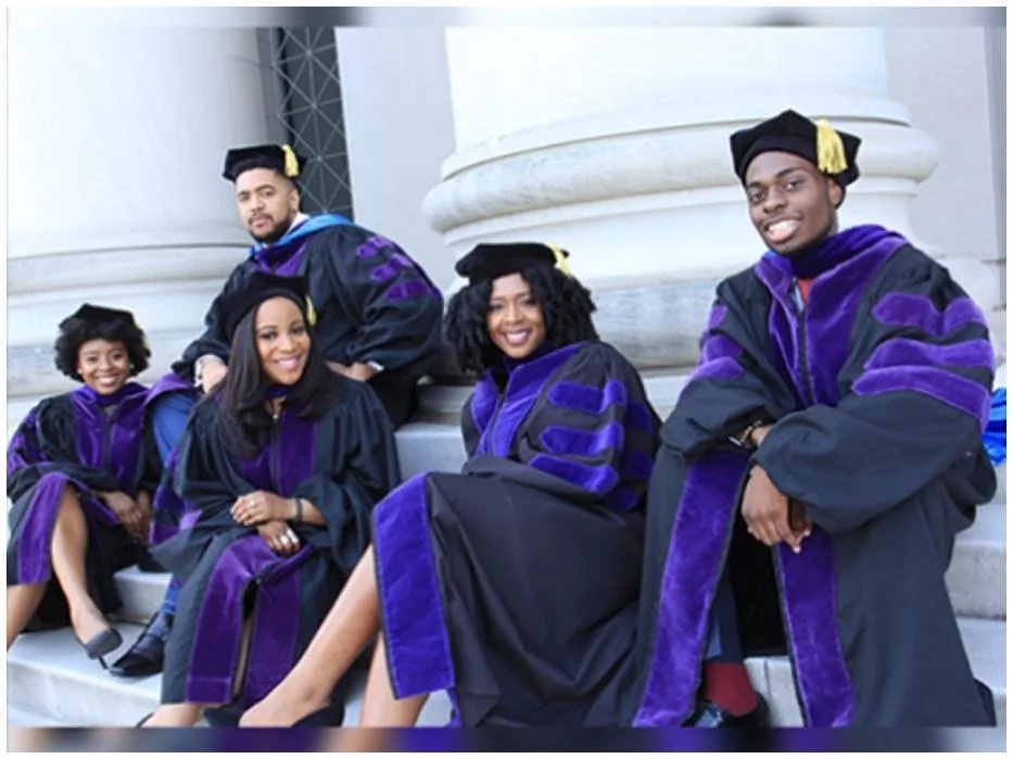 These 5 grads have laughed, cried, argued, studied, traveled and prayed together for 3 years