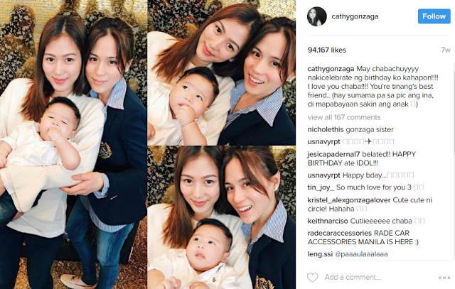"""Ti-Nang"" Alex Gonzaga Shares Playful Moments with Baby Seve, Sister Toni's Son"