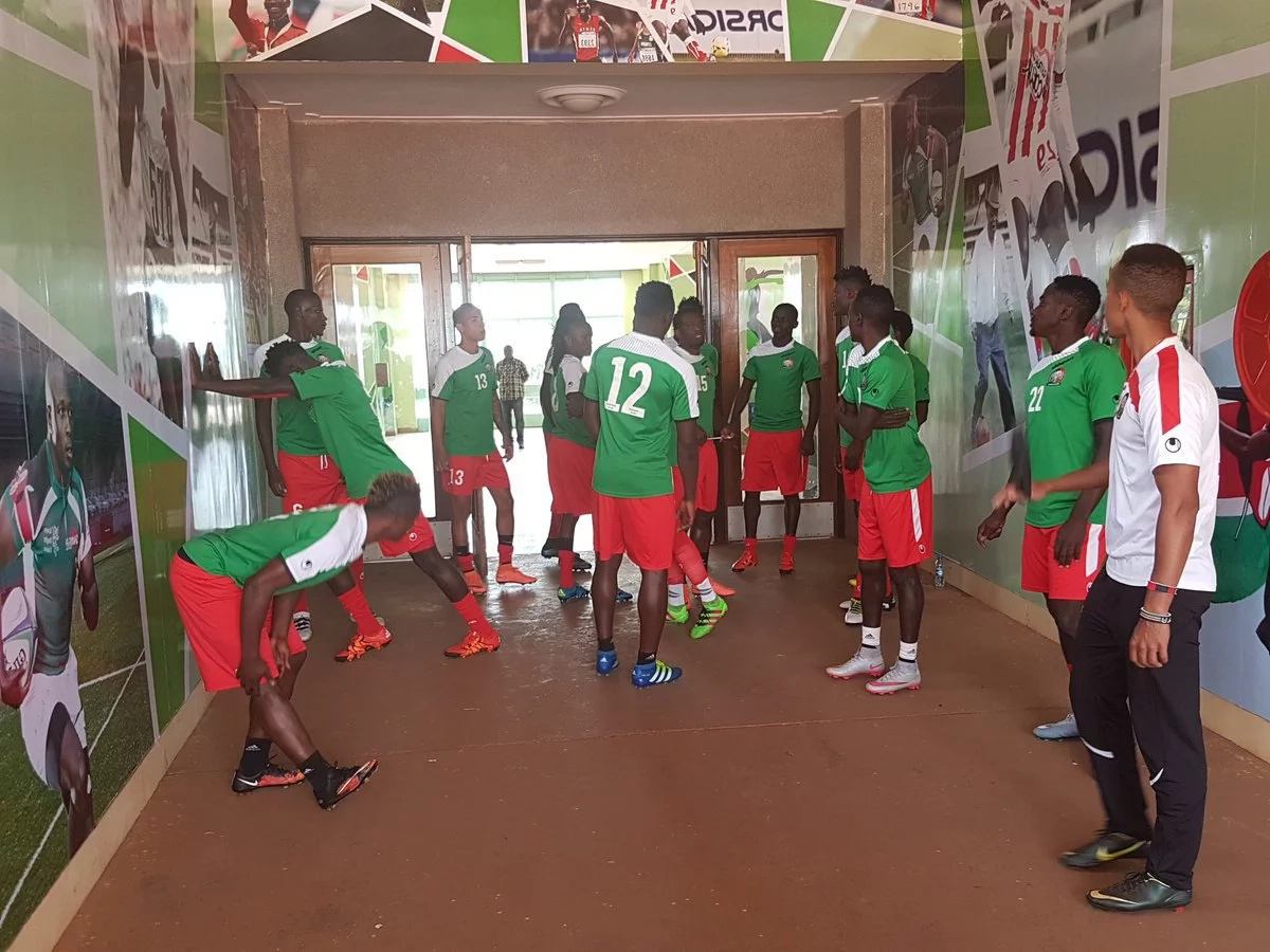 Kenya beat Congo to give Okumbi first victory