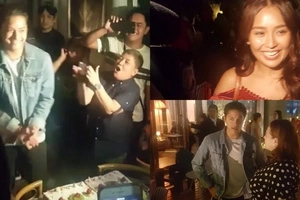 Daniel Padilla welcomes his 22nd birthday with a surprise celebration from Kathryn and loved ones