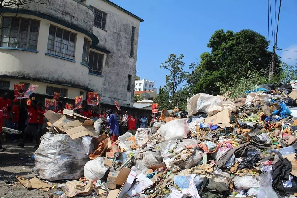 Mombasa Woman Rep's office turned into a dumping site (photos)
