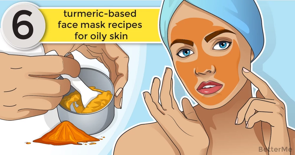 6 turmeric-based face mask recipes for oily skin