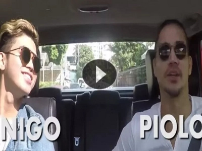Carpool Karaoke of Piolo and Inigo Pascual will give you father and son goals
